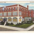 The Rochester Club Rochester NY Vintage 1943 Curteich Linen Postcard unused