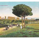 Italy Rome Via Appia Nuova Appian Way Vtg Autochrom Postcard