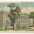 Jackson Mississippi MS Old State Capitol Building Vtg Curteich 1939 Linen Postcard