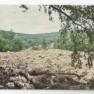 Berks County PA Blue Rocks River of Glacial Rocks Vintage Postcard