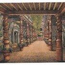 Hotel Geneve Mexico City Lounge Interior Arte Mexicano Vintage Postcard