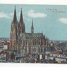 Germany Cologne Koln Coln Cathedral Dom mit Umgebung Vintage Postcard c 1910