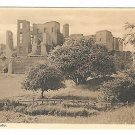 "UK Kenilworth Castle Vintage ""Picked"" Series No 304 Postcard"
