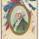 George Washington Birthday Unsigned Clapsaddle Patriotic IAP 1910 Embossed Postcard