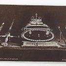 UK Scotland Regalia Edinburgh Castle Crown Jewels H. M. Office of Works Photo Postcard