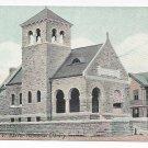 Rutland VT Baxter Memorial Library Leighton ca 1910 Vintage Vermont Postcard