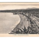 France Nice Pris du Chateau Vintage X Goutagny Postcard Panoramic View from Castle