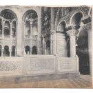 Italy Ravenna Basilica S Vitale Interior Byzantine Church Vintage Postcard
