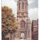 UK England Oxford Christ Church Tom Tower Great Bell Vintage J Salmon Postcard