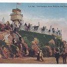 CA San Francisco Sutro Heights The Parapet Vintage SF No 363 PNC Postcard