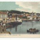 France Trouville Le Bac de Deauville Ferry Steamship Vintage Lucien Levy Postcard