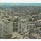 Puerto Rico San Juan Aerial View from Hotel Darlington 1971 Vintage Postcard