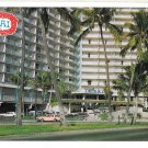 Ilikai Hotel Honolulu Hawaii Waikiki Yacht Harbor Mike Roberts Postcard 1970