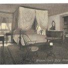 VA Mount Vernon Martha Washingtons Bedroom Vintage Almours Securities Postcard