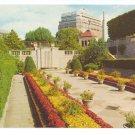 Ontario Canada Oakes Garden Theatre Niagara Falls Sheraton Hotel Vintage Postcard