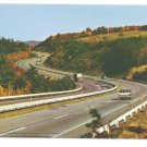 Fort Littleton Area Pennsylvania PA Turnpike Vintage HOJO Howard Johnson Postcard