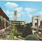Ontario Canada Rainbow Bridge Formal Garden Carilon Niagara Falls Vintage Postcard