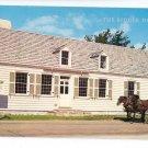 Michigan MI Biddle House Horse Buggy Tour Mackinac Island Lucy Gridley Photo Postcard