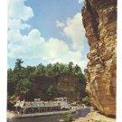 WI Wisconsin River Tour Boat Upper Dells High Rock John Trumble Photo Postcard