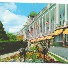 Michigan MI Grand Hotel Mackinac Island Porch Facade Vintage Postcard