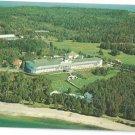 Grand Hotel Aerial View Mackinac Island Michigan  1961 L Gridley Photo Postcardr