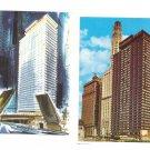 IL Chicago Executive House Hotel 2 Vintage Illinois Hotel Postcards