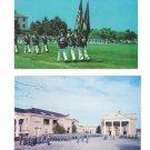 Staunton Virginia Military Acadamy Cadets on Plaza Color Guard 2 Vntg Postcards