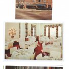 Corning NY 3 Postcards Baron Steuben Hotel Treadway Inn Vintners Restaurant Glassblower