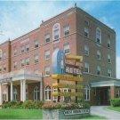 George Wythe Hotel Wytheville VA Vintage Greear Studio Postcard