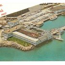 Atlantic City NJ Captain Starns Restaurant Boating Center at Inlet Postcard