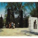 Halifax Nova Scotia Canada Sir Walter Scott Memorial Park Entrance Postcard