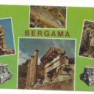 Bergama Turkey Multiview Antiquities Ruins Vintage Continental 4X6 Postcard