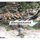 Italy Longarone Disaster Before and After 1963 Aerial 4X6 Multiview Postcard