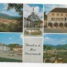 Austria Styria Bruck an Der Mur Steiermark Vintage Multiview 4X6 Postcard