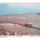 Cog Railway Summit Mt Washington NH White Mountains Winthrop Moore Photo Postcard
