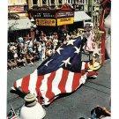Walt Disney World America on Parade Bicentennial Float Betsy Ross Old Glory Flag 1976 Postcard
