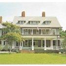 Georgia Jekyll Island Museum Former Rockefeller Cottage C L Marsh Vintage Postcard