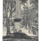 Concord MA Old North Bridge Monument Minute Men Vintage UDB Postcard