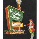 Holiday Inn Sign Hammond Indiana Hotel Motel Vintage Advertising Postcard