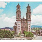 Taxcp Mexico Santa Prisca Church Vtg Postcard Enrique Puente Photo