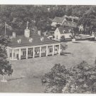 Mount Vernon VA Home of George Washington Vintage Aerial View Postcard