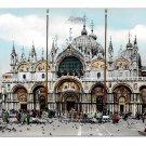 Italy Venice Basilica S Marco Church St Mark Vintage 4X6 Glossy Cesare Capello Postcard