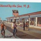 Wildwood NJ Boardwalk Convention Hall Bicycling Vintage 1972 Jack Freeman Postcard