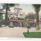 Glenwood Mission Inn The Court Riverside CA Vintage Postcard