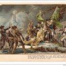 Patriotic Postcard Colonial Heroes #15 Death of Montgomery Lange Schwalbach PMC