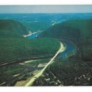 PA Aerial View Delaware Water Gap Toll Bridge George Scheller Postcard