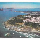 CA San Francisco Panorama Golden Gate Aerial View Gray Line Postcard