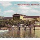 PA Philadelphia Museum of Art Fairmount Water Works and Dam Vintage WYCO Postcard