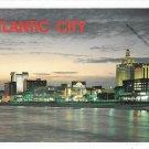 Atlantic City NJ Skyline Panorama Sunset Hotels Casinos Jack Freeman Postcard