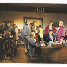 Williamsburg VA Movie Scene Story of a Patriot Raleigh Tavern Apollo Room Postcard